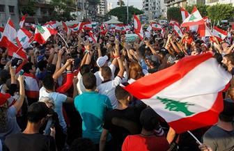 المحتجون اللبنانيون يحاصرون مقر مجلس النواب وقوات الأمن ترد بقنابل الغاز