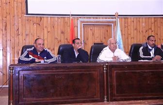 جامعة سوهاج تعقد الاجتماع التحضيري مع مشرفي الوفود المشاركة بأسبوع الجامعات | صور