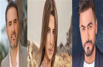 تامر حسني ونانسي وشيبة ووائل جسار نجوم حفل عيد الحب