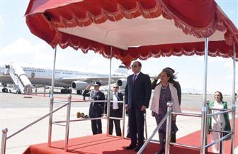 الرئيسة الإثيوبية تستقبل الرئيس السيسي لدى وصوله مطار أديس أبابا| صور