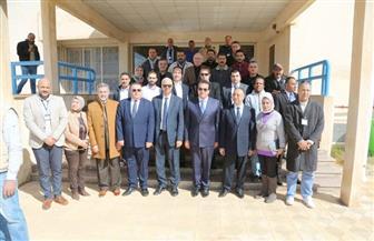 وزير التعليم العالي يتفقد مستشفى برج العرب الجامعي لعلاج أورام الأطفال | صور