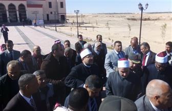 وزير الأوقاف يفتتح مسجدين في الوادي الجديد بتكلفة 6 ملايين جنيه | صور
