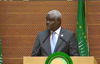 رئيس مفوضية الاتحاد الإفريقي: أثمن الدور الكبير للرئيس السيسي وحسن تعامله مع قضايا القارة