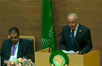 أبو الغيط: نسعى لتثبيت الهدنة في ليبيا ووقف التدخلات الخارجية