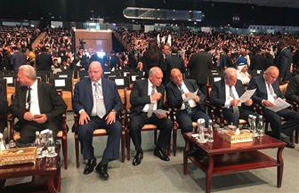 وزير التنمية المحلية ومحافظ القاهرة يشهدان الجلسة الافتتاحية للمؤتمر الحضري العالمي   صور