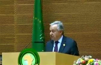 الأمين العام للأمم المتحدة: مكافحة الإرهاب في إفريقيا شرط أساسي لتحقيق التنمية المستدامة