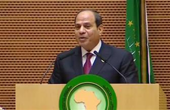 الرئيس السيسي يستعرض التجربة المصرية لرئاسة الاتحاد الإفريقي