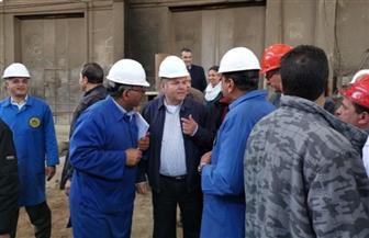 وزير قطاع الأعمال يوجه بتطوير شركات تابعة للشركة القابضة للصناعات المعدنية