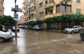 أمطار غزيرة على مدن وقرى كفرالشيخ تغرق الشوارع وتقطع الكهرباء