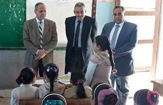 جولة تفقدية لوكيل التعليم بالفيوم ومدير مكتب الوزير على عدد من المدارس بالمحافظة | صور