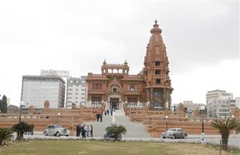 وزير السياحة والآثار يتفقد أعمال التشطيبات النهائية بقصر البارون | صور