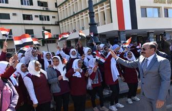 محافظ أسوان يشهد الاحتفال باليوم العالمي للتعليم | صور