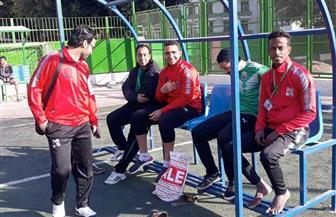 انطلاق بطولة كرة القدم الخماسي بأسبوع الجامعات بسوهاج | صور
