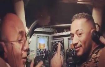 """محمد رمضان يفجر مفاجأة في """" واقعة الطيار"""" بنشر فيديو يحمل تفاصيل جديدة"""