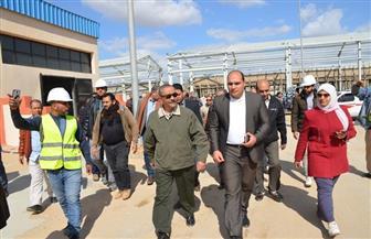محافظ الإسماعيلية يتفقد مشروع مجمع الورش الحرفية الجديد