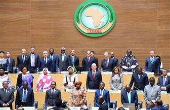 الرئيس السيسي: فترة رئاسة مصر للاتحاد الإفريقي اتسمت بالزخم الشديد على جميع المستويات