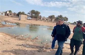 محافظ البحر الأحمر يقيل رئيس قرية الزعفرانة لتدني مستوى النظافة | صور