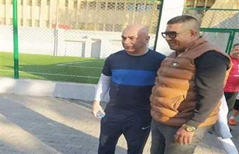 حسام حسن يظهر في  الأهلي | صور
