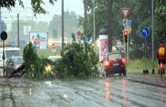 300 راكب عالقين.. السكك الحديدية الألمانية تعلق حركة القطارات غرب البلاد بسبب إعصار زابينه