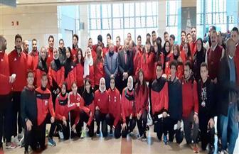 15 ميدالية لمصر في ثالث أيام بطولة إفريقيا للكاراتيه