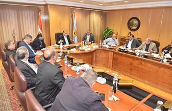 محافظ أسيوط يلتقي أعضاء النواب لمناقشة تنفيذ المشروعات التنموية | صور
