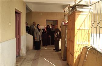 نقل تلاميذ مدرسة النور الابتدائية للمكفوفين بكفر الشيخ لحين إعادة تأهيل المدرسة | صور