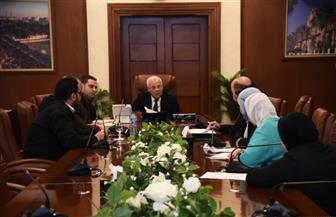محافظ بورسعيد يتابع الموقف التنفيذي لمحطة صرف صحي الضواحي | صور
