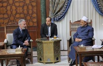سفير البرازيل يشيد بجهود الإمام الأكبر في نشر السلام العالمي | صور