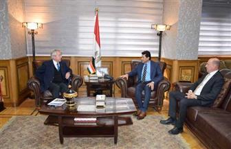 وزير الرياضة يلتقي رئيس الاتحاد الدولي للخماسي الحديث