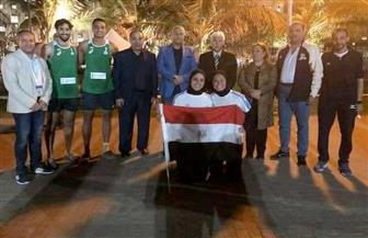 السفير المصري في مسقط يشارك في المباريات الختامية للمنتخب في البطولة العربية الجامعية