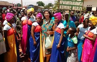 سفيرة مصر ببوروندي تشارك في احتفالات مرور 100 سنة على إنشاء مدينة نجوزي | صور
