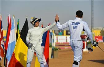 مصر تواصل سيطرتها على منافسات الزوجي المختلط بكأس العالم للخماسي الحديث | صور