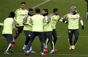 أجويرو يقود هجوم مانشستر سيتي أمام فيلا في نهائي كأس الرابطة