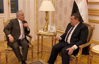 هيكل يستقبل سفير المملكة الأردنية لبحث التجربة المصرية في الإعلام
