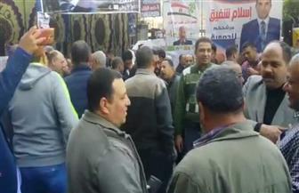 حضور مكثف للناخبين بمؤسسة دار التحرير في الساعات الأولى من الانتخابات | فيديو