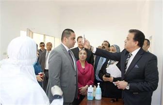 وزير التعليم العالي يتفقد مستشفى قصر العيني وعيادات جامعة القاهرة