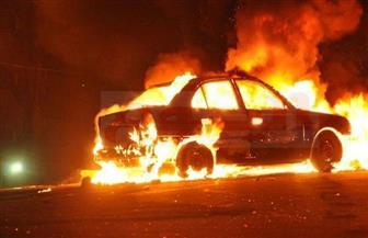 تفحم 3 سيارات خاصة في حريق بجوار مستشفى العجوزة