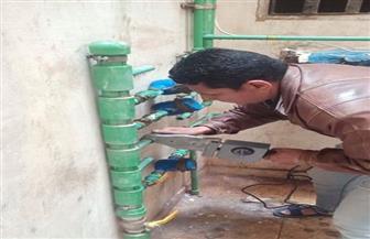 جهاز دمياط الجديدة يشُن حملة لضبط وصلات مياه الشرب والصرف الصحى المخالفة |صور
