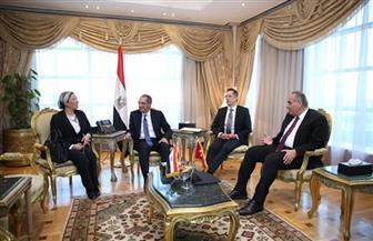 تعاون بين الاتصالات والبيئة وسفارة سويسرا فى القاهرة لدعم صناعات إعادة تدوير المخلفات الإلكترونية بمصر