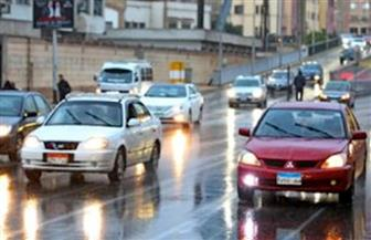 سقوط أمطار ما بين خفيفة ومتوسطة على بعض مناطق القاهرة