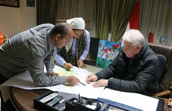 محافظ جنوب سيناء يعتمد مخطط التنمية العمرانية لتجمع الرويسات بشرم الشيخ | صور