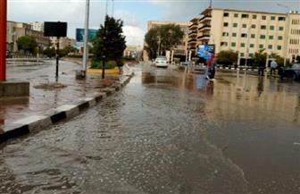 أمطار غزيرة على مدن وقرى كفرالشيخ تغرق الشوارع وتقطع الكهرباء وتوقف حركة الصيد