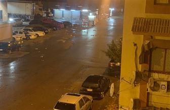 سقوط أمطار خفيفة متواصلة على محافظة بورسعيد