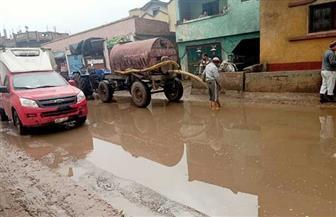 أمطار غزيرة على مراكز البحيرة وإغلاق ميناء المعدية وبوغاز رشيد | صور