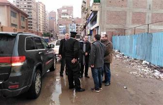 محافظ الغربية يتفقد أعمال رفع مياه الأمطار من الشوارع بالمحلة الكبرى | صور
