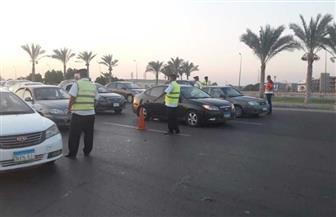 سيارات دفع رباعي وإغاثة مرورية على الطرق بسب سوء حالة الطقس لمساعدة سائقي السيارات | صور