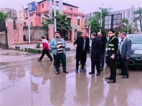 محافظ الغربية يتابع أعمال شفط مياه الأمطار من الأنفاق والشوارع بطنطا وكفر الزيات   صور