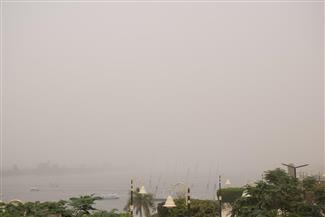 بسبب سوء الأحوال الجوية.. غلق مطار الأقصر وتغيير مسار كافة الرحلات | صور