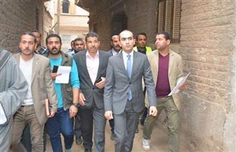 """نائب محافظ سوهاج يتفقد أعمال مبادرة """"حياة كريمة"""" في قرى البلينا"""