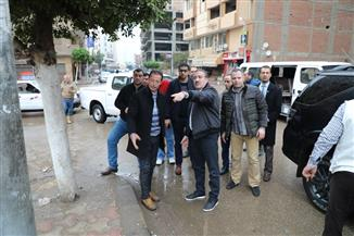 محافظ المنوفية يتفقد أعمال شفط تجمعات الأمطار بالشوارع | فيديو